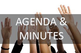 People Raising hands - board meeting minutes & Agenda