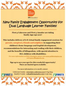 engagement opportunities for dual language families